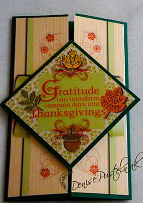 SUO Challenges » Handmade Thanksgiving Cards